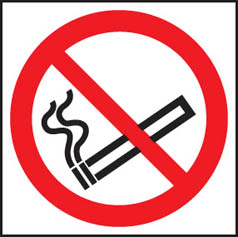 No smoking symbol Sign (3017)