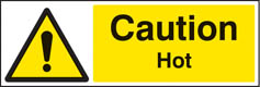 Caution Hot Sign