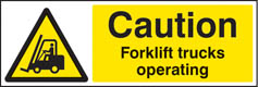 Forklift Truck Warning Signs