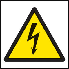 Electricity symbol Sign