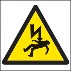 Danger of death symbol sign
