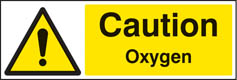 Caution oxygen Sign (4410)