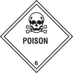 Hazard Label Poison