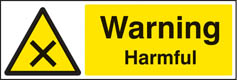 Warning Harmful sign