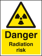 Danger radiation risk Sign (4462)