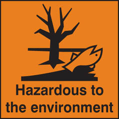 Hazard Label Hazardous to environment