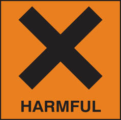 Hazard Label Harmful