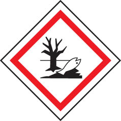 Environmentally Hazardous GHS Label
