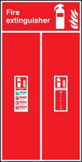 Fire Extinguisher Location Boards