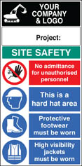 Site Safety Board 58022