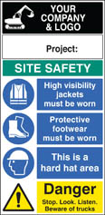 Site Safety Board 58023
