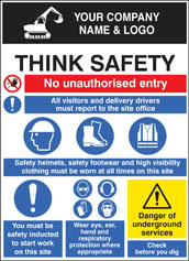 Site Safety Board 58025