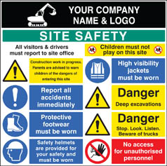 Site Safety Board 58028