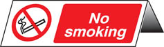 No smoking table cards