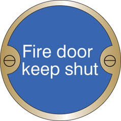 Fire Door Keep Shut Prestige