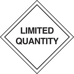 LQ / Limited Quantity Labels