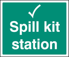 Spill kit station Sign (6048)