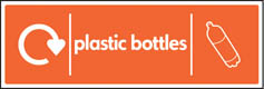 Plastic Bottle Recycling Signs