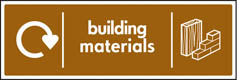 Building Materials Recycling Signs