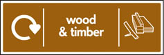 Wood & Timber Recycling Signs