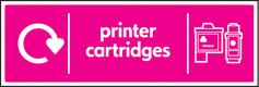 Printer Cartridge Recycling Signs